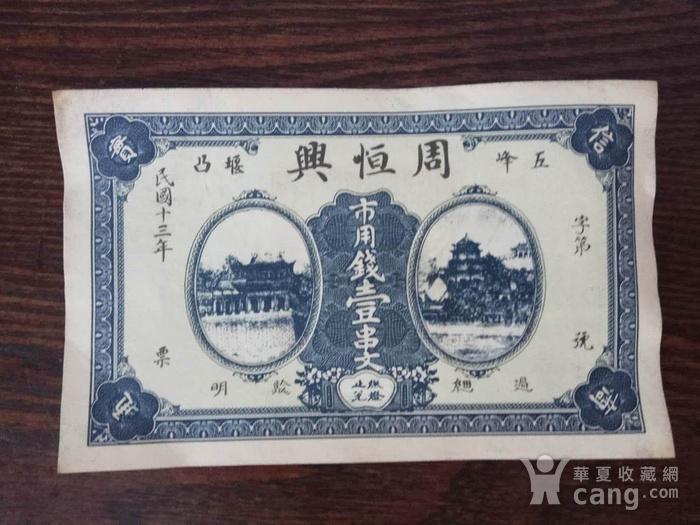 旧钱币一张图1
