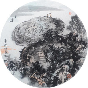 中国美术学院名家 陈武 普陀记游