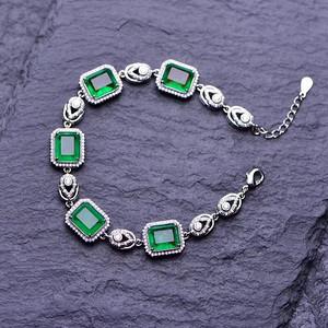 祖母绿手链