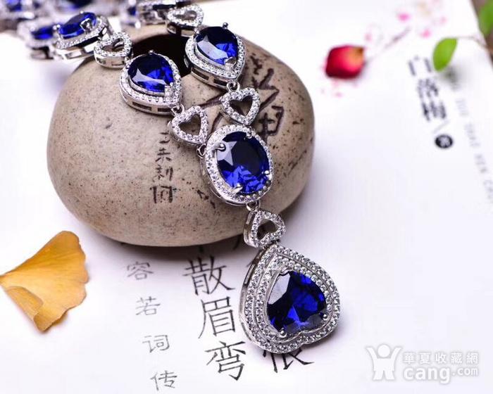 蓝宝石项链图3