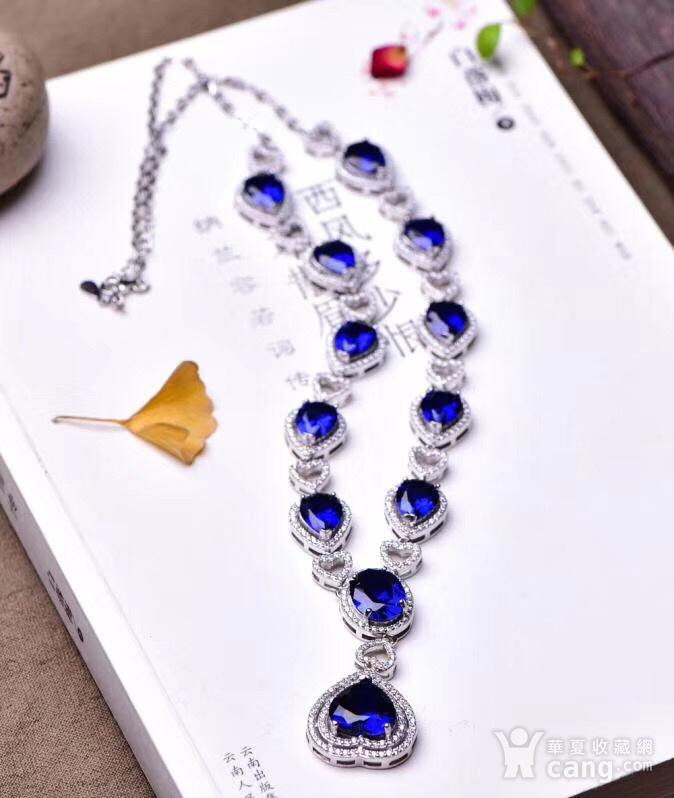 蓝宝石项链图2