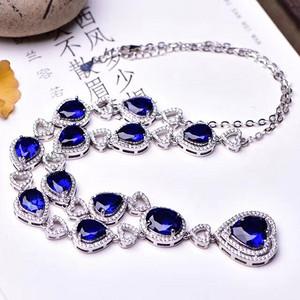 蓝宝石项链