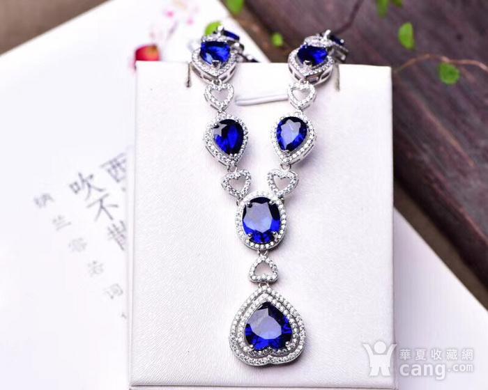 蓝宝石项链图5