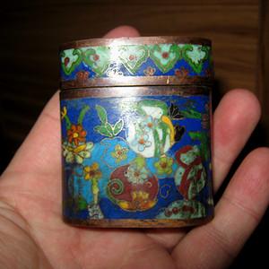 老景泰蓝盒