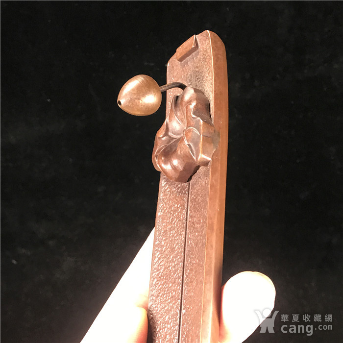 日本回流  铜器  香插图4