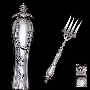 法国银器,纯银大餐具