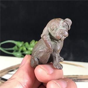 日本回流 铜器  萌小狗  精工细致