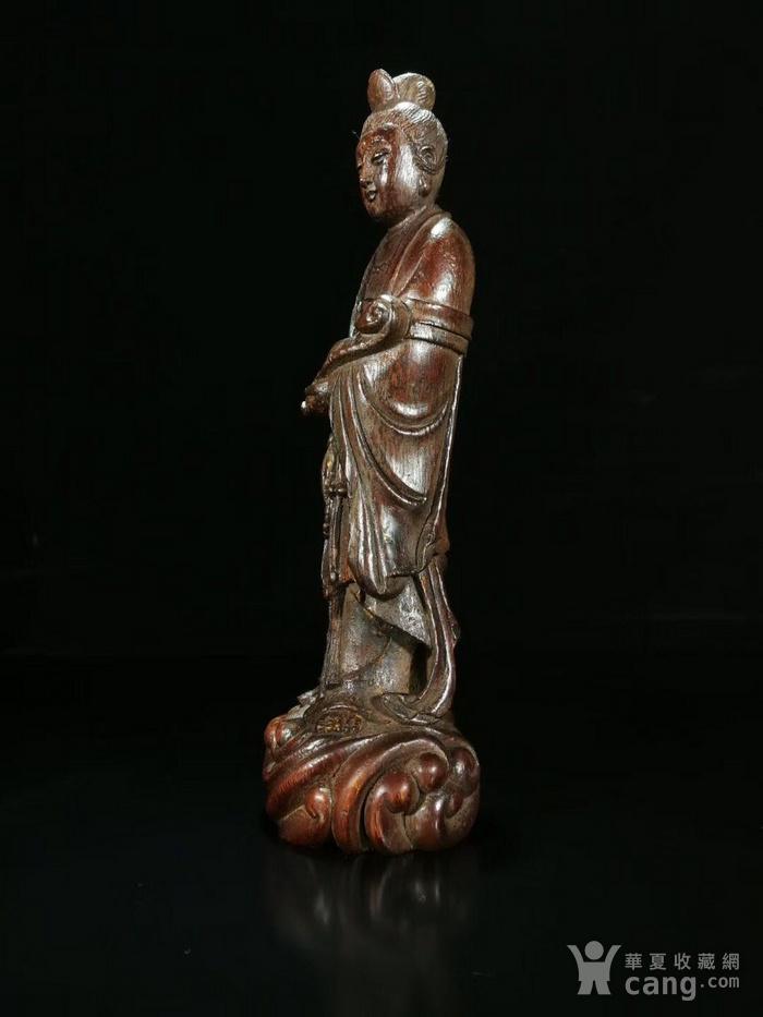 清竹根雕 如意观 像图4