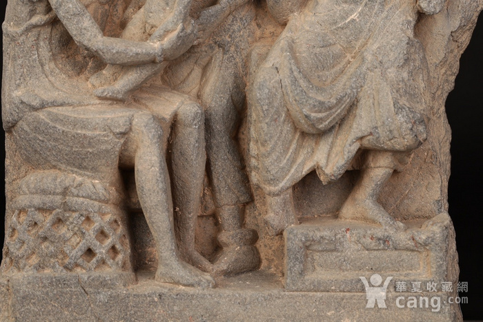 公元1 3世纪健陀罗石雕组像图7