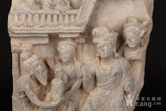 公元1 3世纪健陀罗石雕组像图8