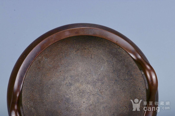 旧藏铜胎凤耳香炉图7