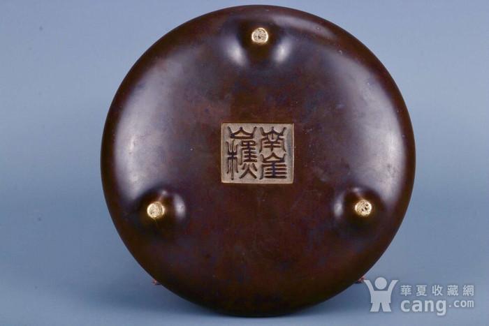 旧藏铜胎凤耳香炉图8