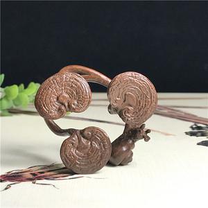 日本回流  铜器 灵芝蜗牛