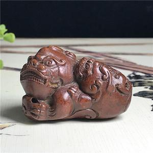 日本回流  铜器  瑞兽