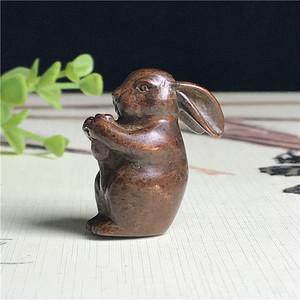 日本回流  铜器  兔兔