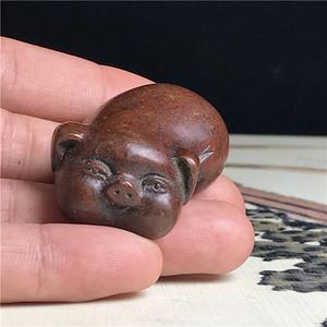 日本回流  铜器  福气猪猪