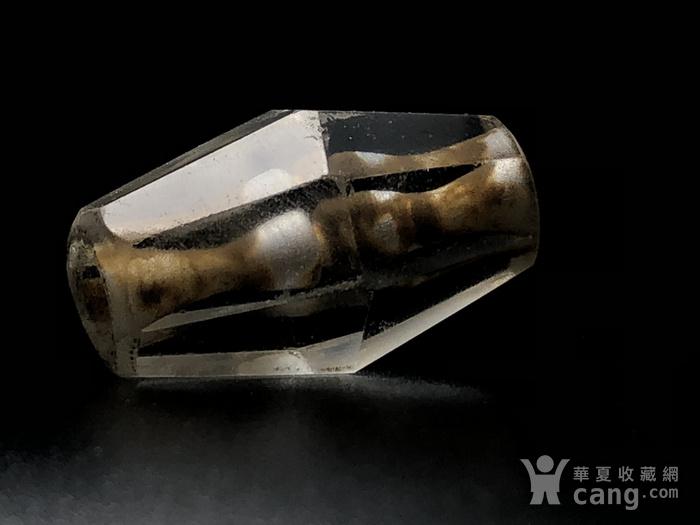 高古八棱水晶珠一颗图1