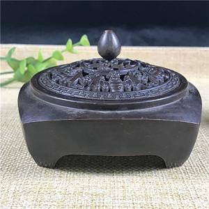日本回流 铜器  香炉
