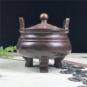 日本铜器 回流 香炉