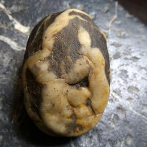 画面人物奇石  小精品