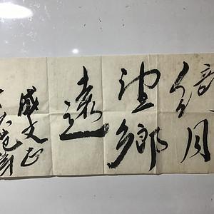 中国画院副主席范扬书法
