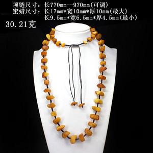 天然原石蜜蜡项链51112