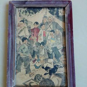 文革时期的一幅画