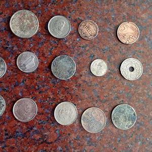 各种外国硬币15枚