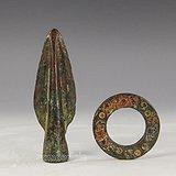 战国青铜矛青铜