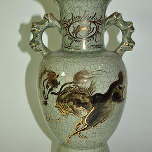 日本相马窑瓷瓶