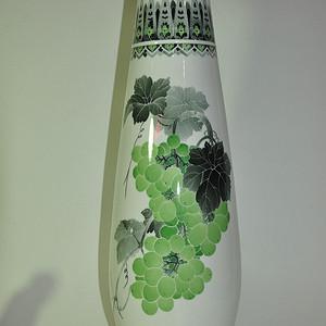 8090年代醴陵手绘赏瓶