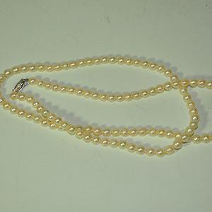 日本海珠毛衣项链