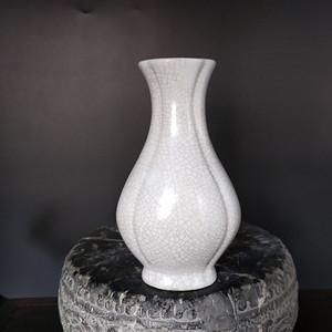 海外回流 清代哥窑花瓶
