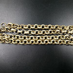清代银饰项链