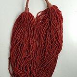 小米珠型红SH串装项链