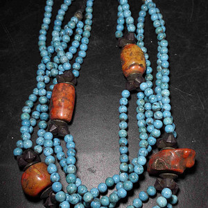 藏传松石长项链