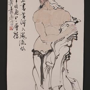 林峥明,作品3,登鹳雀楼