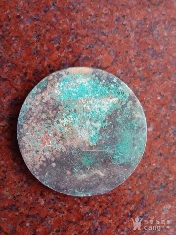 旧藏双鱼铜镜一件图7