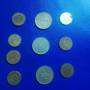 80 90年代的港台硬币10枚