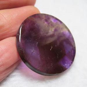 美品 小有年头 正宗 天然 稀少紫罗兰色 碧玺 圆圆满满