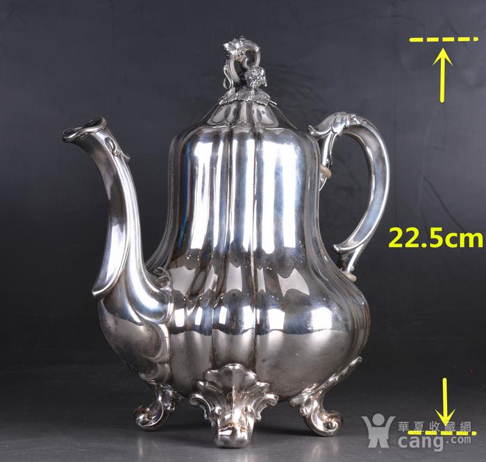 800银 欧式老茶具一套图4