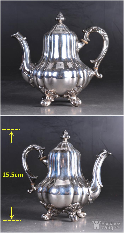 800银 欧式老茶具一套图9