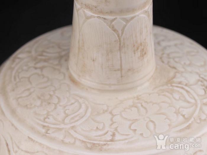 旧藏北宋定瓷长颈瓶图5