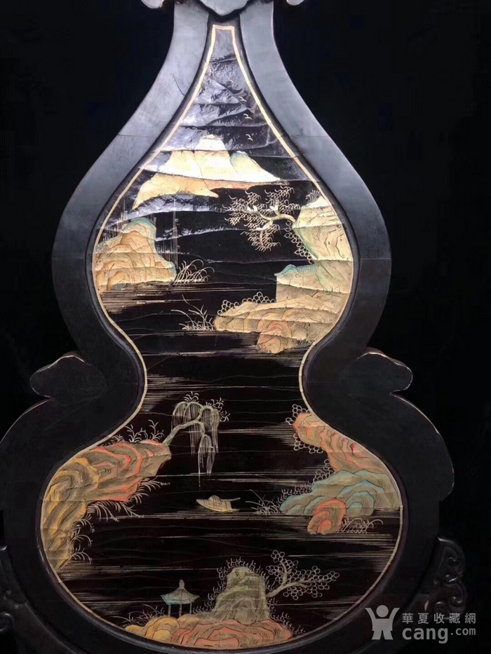 百宝嵌葫芦屏图3