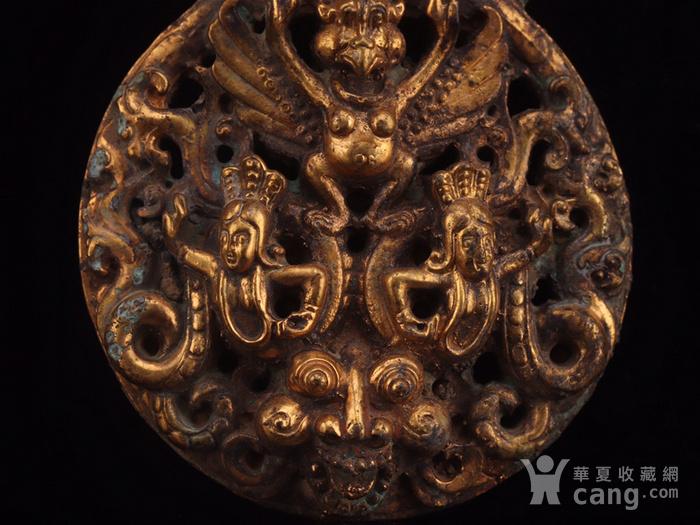 旧藏铜鎏金龙纹带钩图6