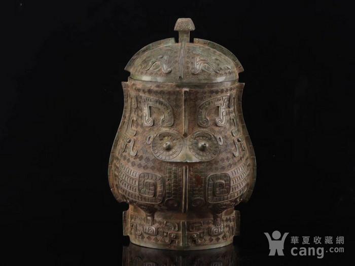 旧藏青铜饕餮纹尊图6