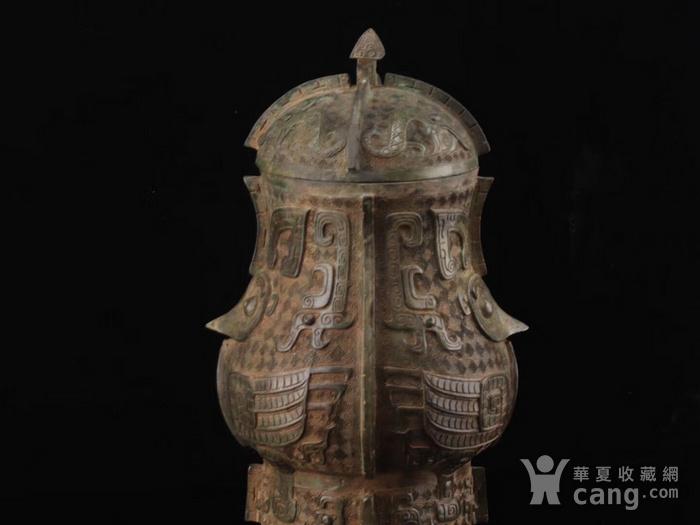 旧藏青铜饕餮纹尊图7