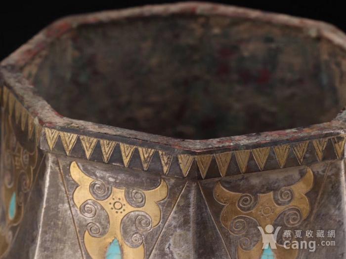 旧藏战国鎏金鎏银瓶一对图5