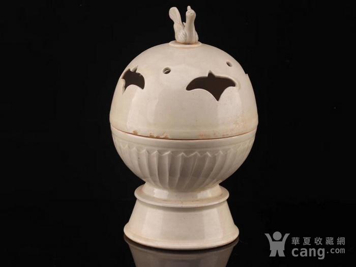 旧藏北宋定瓷鸟熏图6