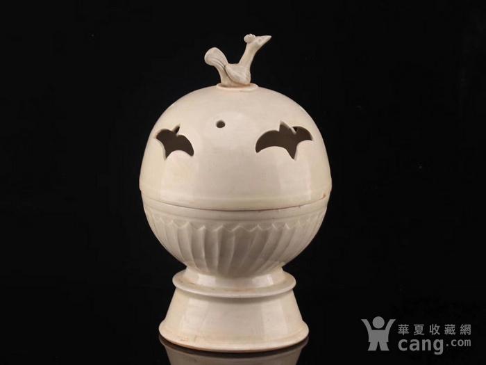 旧藏北宋定瓷鸟熏图7